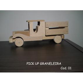 Brinquedo Para Diversão - Carrinhos Madeira Nove Modelos