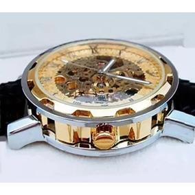 e76442f85c0 Relogio Constantin Automatico Skeleton Rose Unissex - Relógios De ...