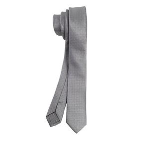 Corbata Para Hombre En Color Plata