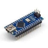 Arduino Nano V3.0 Atmega328p Ch340g 16m 5v Cn Pines Soldados