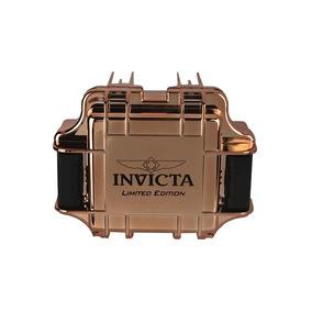 Maleta Invicta Rose Gold P/ 1 Relógio. 3 Caixas Por R$ 139