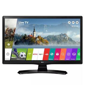 Tv Monitor Smart Led 23,6 Hd Lg 24mt49s-ps Com Wi-fi, Webos