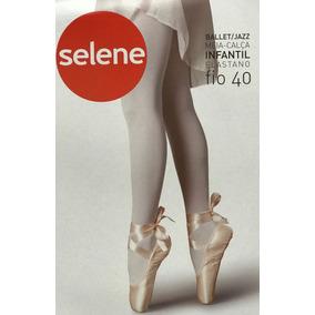 Kit 12 Meia Calça Infantil Fio 40 Ballet Selene Oferta 5f11b48ec7e
