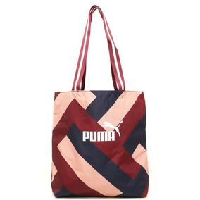 Bolsa Sacola Puma Wmn Core Shopper Vinho bege - Original 9e2c3f5b81e