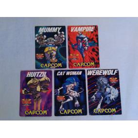 Darkstalkers Capcom Cards