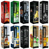 Cervejeira Metalfrio Beer Maxx 300 Inox Personalizada