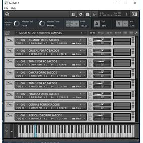 Multi Kit Kontakt Com 10 Ritmos Yamaha