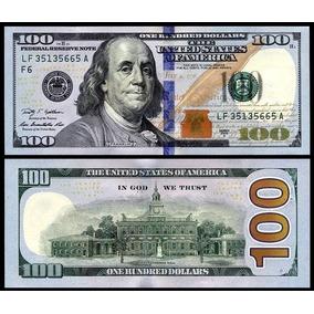 Usa Estados Unidos Cédula De 100 Dólares Fe Nova E Original