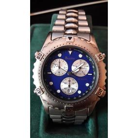 c2381fb6d15 Bulova Cronografo O Mais Bonito - Relógios De Pulso no Mercado Livre ...