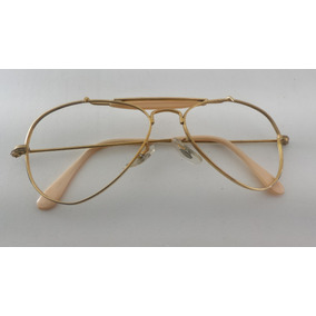 b4ccc341d5fc4 Oculos Aviador Ventura Armacoes - Óculos, Usado no Mercado Livre Brasil