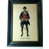 Wyatt Earp Sheriffl Vaqueros Cowboys Adornos Bar