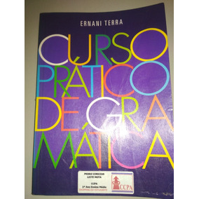 Livro - Curso Pratico De Gramatica Ernani Terra