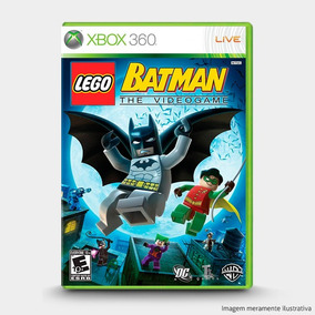Lego Batman: The Videogame - Original Para Xbox 360 Novo