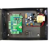 Controladora Con Gabinete, Para 2 Puertas, Incluye Software