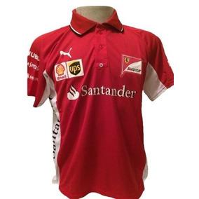 Camiseta Gola Polo Ferrari Vermelho Barato 6105f9edf6d