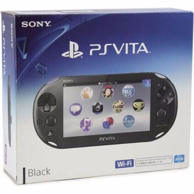 Psvita Sony Wi-fi Ps Vita Pch-2006 Preto Recon Original Novo