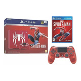 Ps4 Pro Sony Playstation 4 Pro Spiderman Edicion Especial