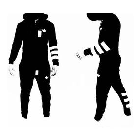 Conjunto adidas Urbano Hip Hop Swag Hombre Running Cross Fit f220bc8bfde
