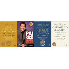 Como Se Tornar Um Líder Servidor + Pai Rico + 2 Livros