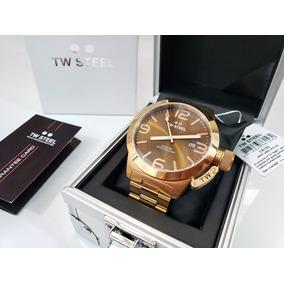 Reloj Tw Steel Caballero Rose Gold Zafiro Tb192 Original
