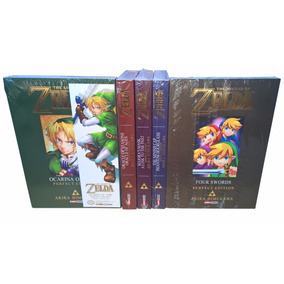 The Legend Of Zelda - Panini - Volumes 1 Ao 5 Completo