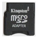 Adaptador Micro Sd P/ Mini Sd 100% Original Kingston !!!
