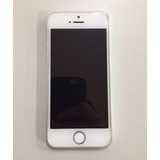 Iphone 5s 16gb Silver + Case + Película Em Ótimas Condições