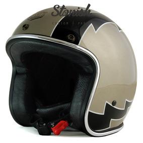 Capacete Aberto Flash Champanhe Urban Helmets