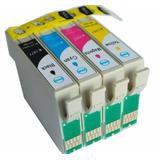 Cartucho Compatible Con 133 T133120 Yellow