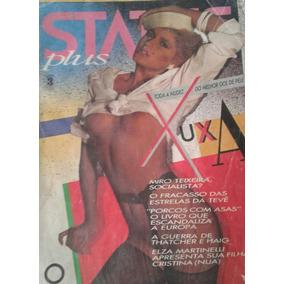 Revista Status Plus - Xuxa - 1983 Raridade - Menor R$ Do Ml