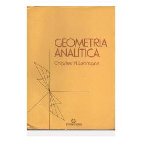 Geometría Analítica Lehmann Em Pdf - Livros no Mercado Livre Brasil 99426c9755590