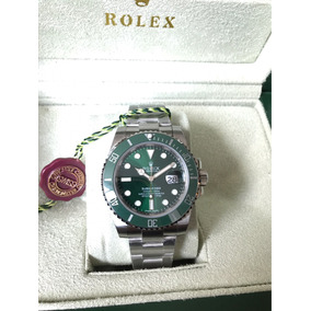 Reloj Rolex Submariner Suizo Hulk 116610lv Eta 3135