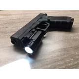 Lanterna Tática Para Pistolas Trilho 20mm+bateria/carregador