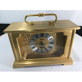 Hermoso Reloj Linden Despertador Oro Eléctromecanico Japan