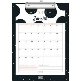 Planner 2019 Tilibra West Village Prancheta Calendario