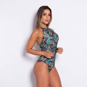 Body Estampado Fitness Feminino Bory..