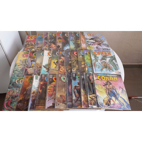 A Espada Selvagem De Conan - Lote Com 57 Edições - Ed Abril
