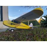 Avion Entrenador Piper J3, Ideal Para Aprender A Volar! Artf