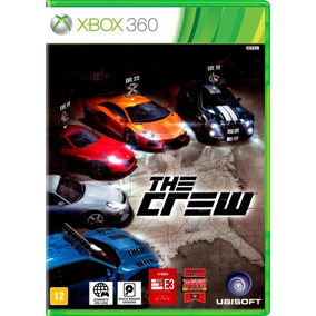 Jogo The Crew Xbox 360 Português Novo Lacrado Frete Grátis