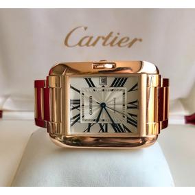 Cartier Tank Anglaise Xl.rose Gold 2015.completo E Impecável