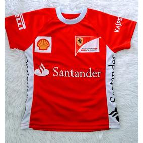 Camiseta Feminina Manga Curta Red Bull Bmw Ferrari Baby Look 00caf967f4a
