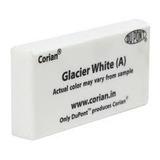 Placa Corian® De 12mm Glacier White Mas 2 Adhesivos 50ml