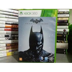 Jogo Batman Arkham Origins Xbox 360 Original Mídia Leia...