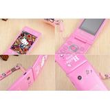 Celular Hello Kitty Sistema Java Nuevo En Caja Color Rosa
