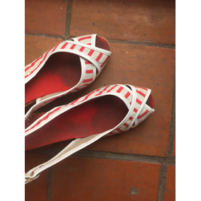 Sandalia Taco Chino Taco A Rayas - Zapatos en Mercado Libre Argentina 1f03b00023f