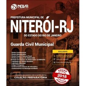 Apostila Concurso Guarda Municipal Niterói - 2018 - Digital