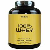100% Whey 3w Ultimate Nutrition 2kg 5lb Original Importado