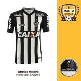 e12b852894 Camisa Atlético Mineiro 2018 2019 Home Uniforme 1 Elias Luan