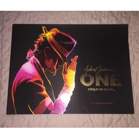 Michael Jackson One - Cirque Du Soleil Souvenir Program