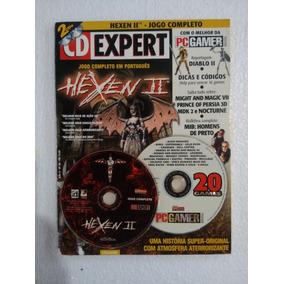 Revista Cd Expert Nº 28 - Hexen 2 + 20 Jogos